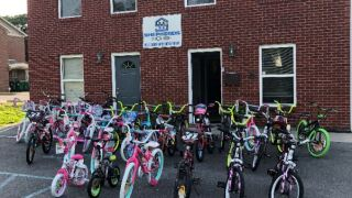 Making A Difference: Recovering Addicts Giving Bikes To Children