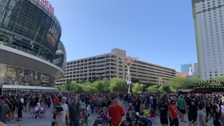 Golden Knights fans ecstatic after team clinches spot in Stanley Cup semis