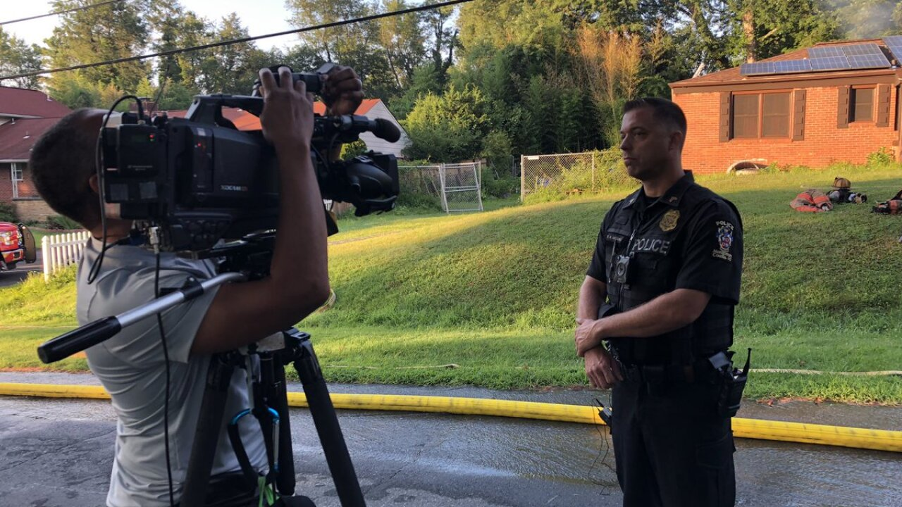 Montgomery County Police Sergeant rescues elderly couple from burning home