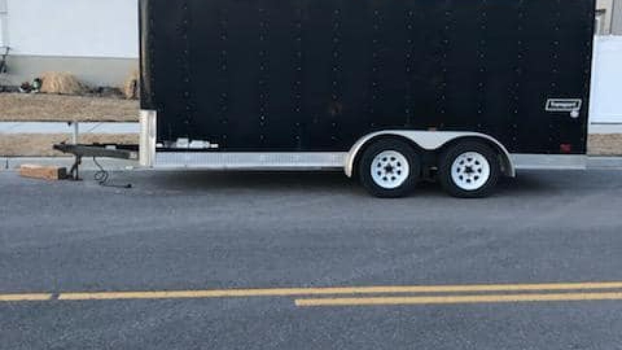 Provo Police searching for stolen football equipmenttrailer