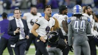 Justin Tucker Ravens Lions Football