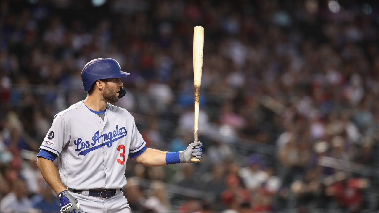 Dodgers' Chris Taylor