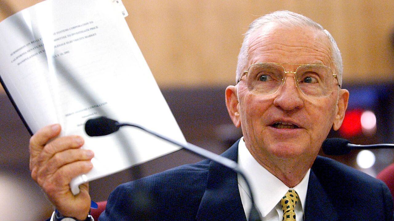Ross Perot, self-made billionaire and twice presidential candidate, dead at 89