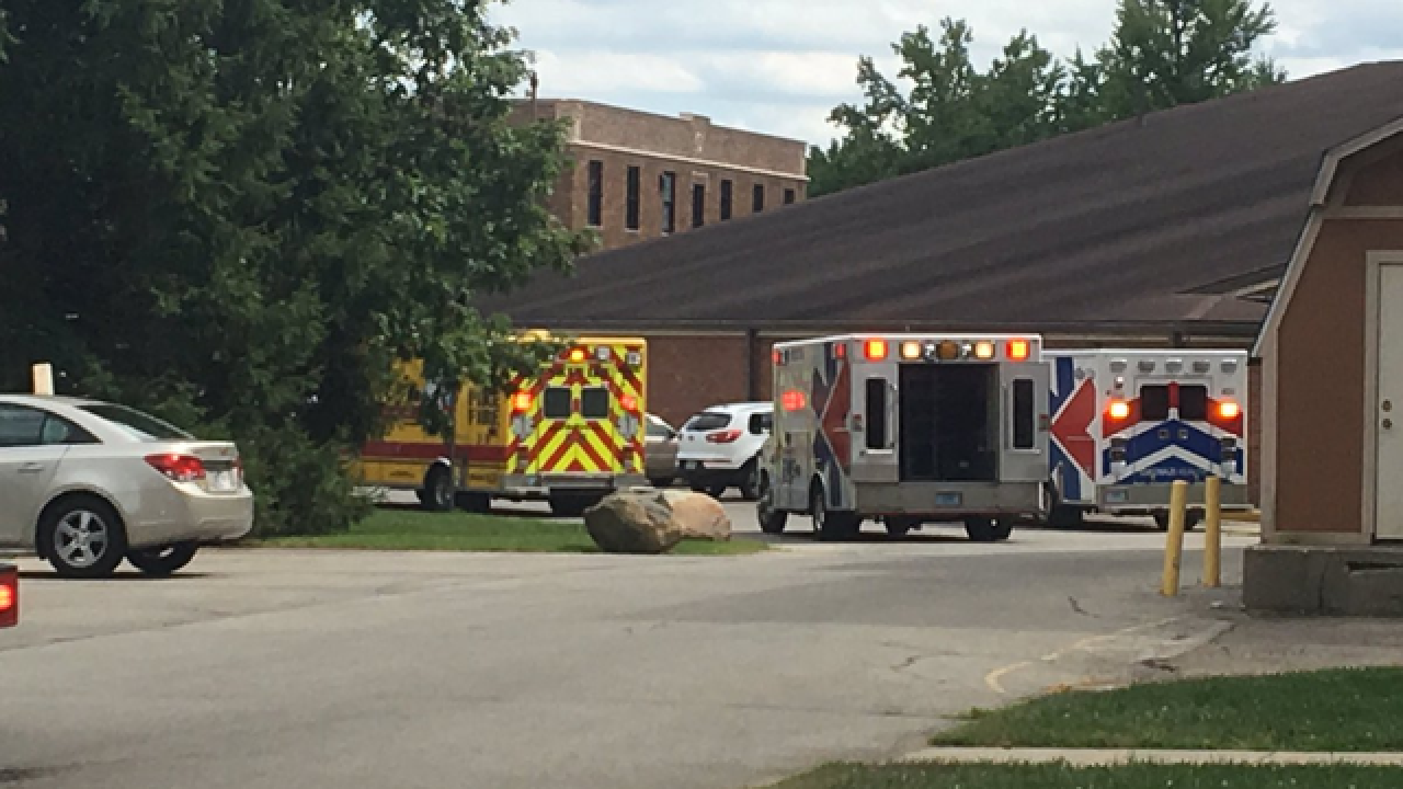 5 people sick after chemical odor at Indy school