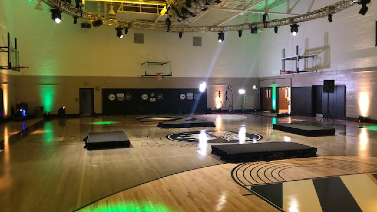 LeBron James Family Foundation renovates Akron gym