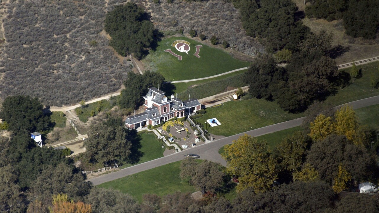 Michael Jackson's Neverland Ranch sale price dropped to $31 million