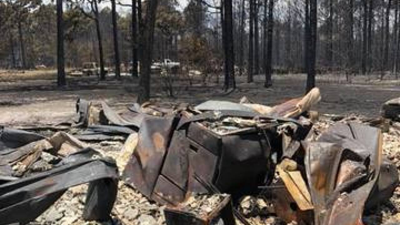 State: Controlled burn sparked fire that destroyed 36 homes