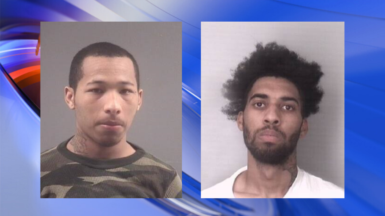 2 suspects in MacArthur Center double shooting arrested by U.S. Marshals