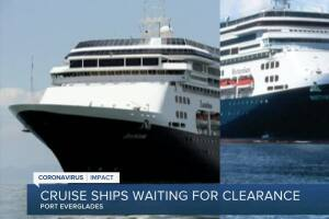 'Sick' cruise ships could dock at Port Everglades on Thursday afternoon