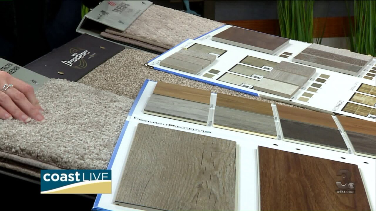 Improving spaces in your home and your flooring on Coast Live
