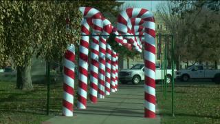 kalamazoo candy cane lane bronson park