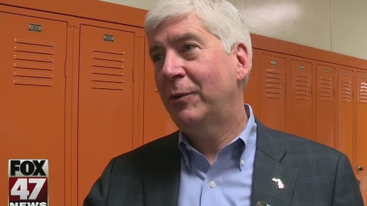Gov. Rick Snyder reiterates call for civility
