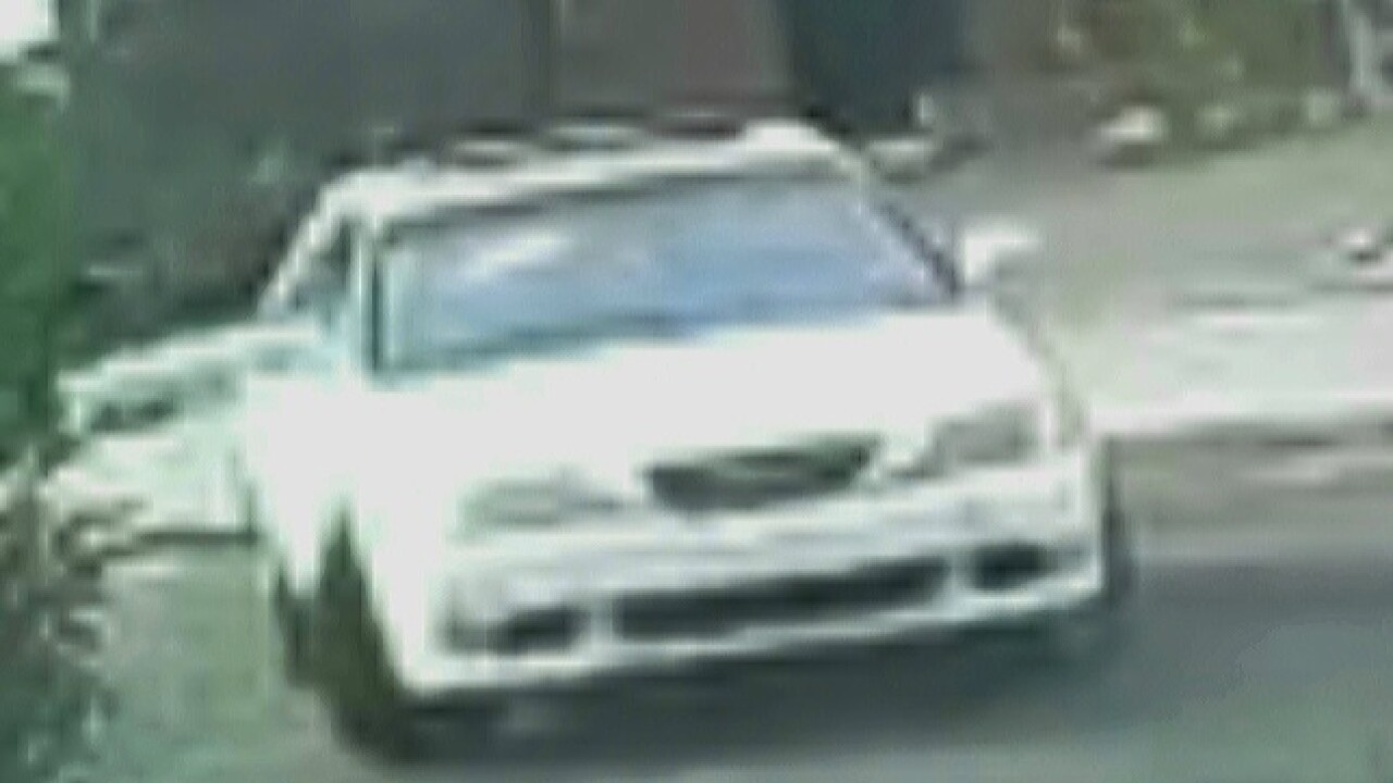 Police are looking for a vehicle of interest connected to the killing of 30-year-old David Scott Anderson.