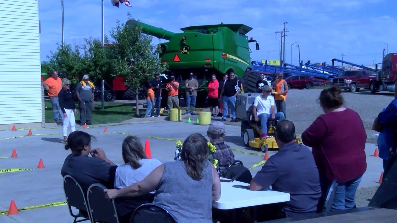 Frieling's hosts annual lawnmower race
