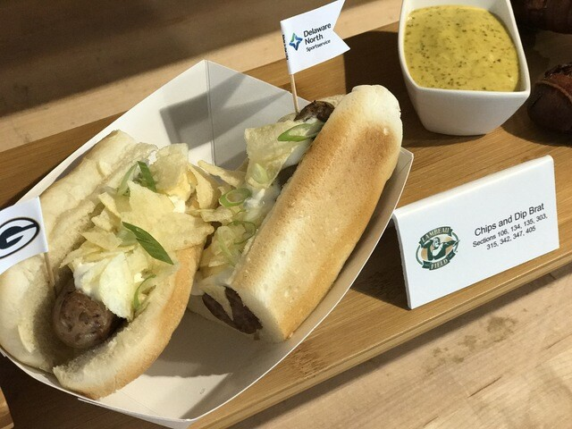 New Lambeau Field concessions for 2017