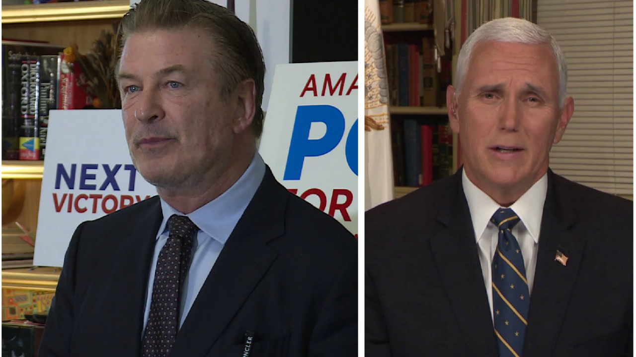 Alec Baldwin hit Chesterfield streets for Democrats; Pence weighs in on Virginiaelections