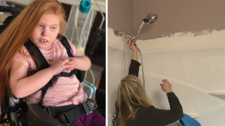 Family frustrated after contractor fails to install wheelchair-accessible shower