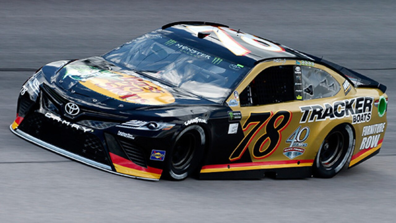 Martin Truex Jr Of Denver S Furniture Row Racing Team Clinched