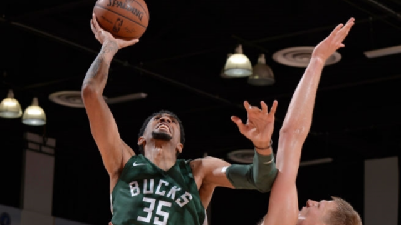 Bucks rout Pistons in NBA Summer League opener