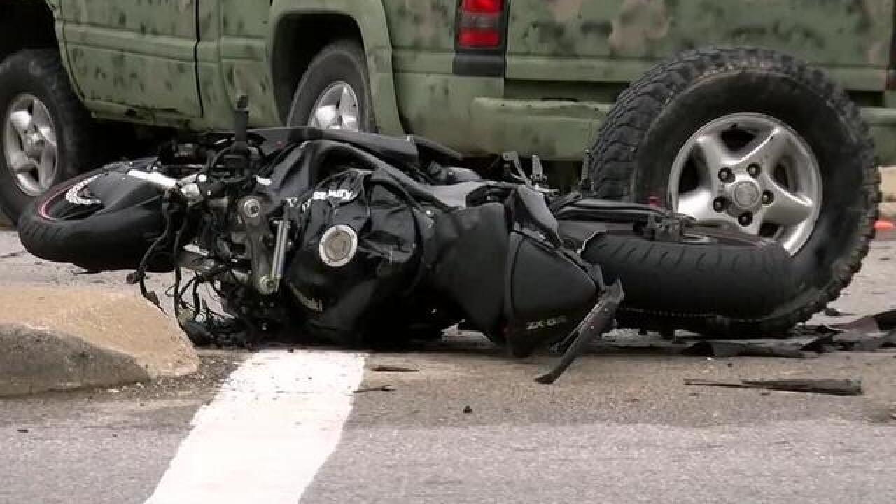 Medical Examiner: Man killed in motorcycle accident in Milwaukee