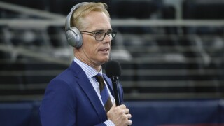 Sports broadcaster Joe Buck stays fresh by doing pay-by-play of Americans' quarantine activities