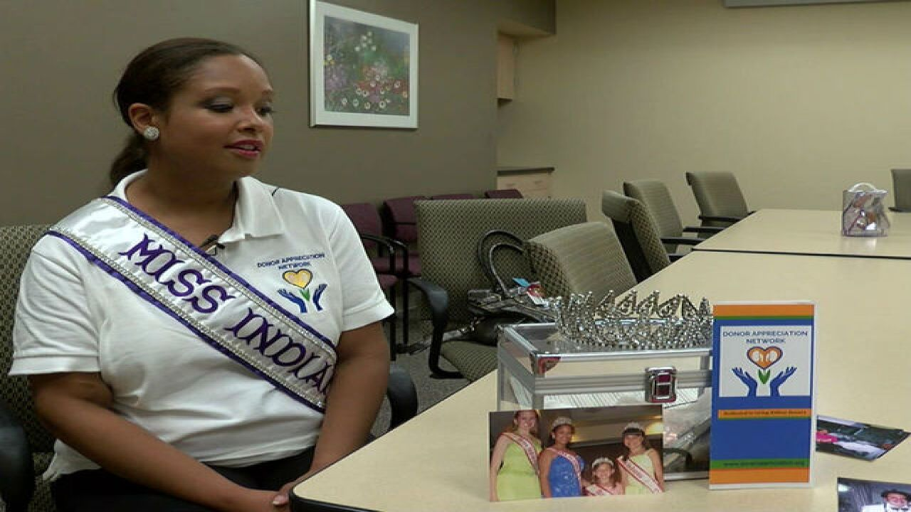 Miss Indiana International needs a new kidney
