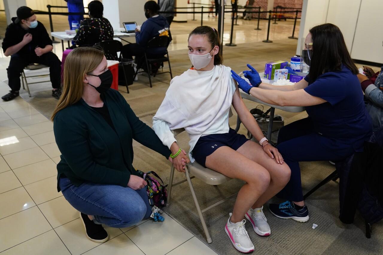 Virus Outbreak Pennsylvania Vaccine