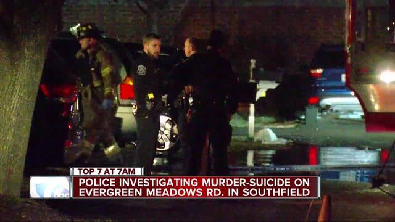 Two dead in apparent murder-suicide in Southfield