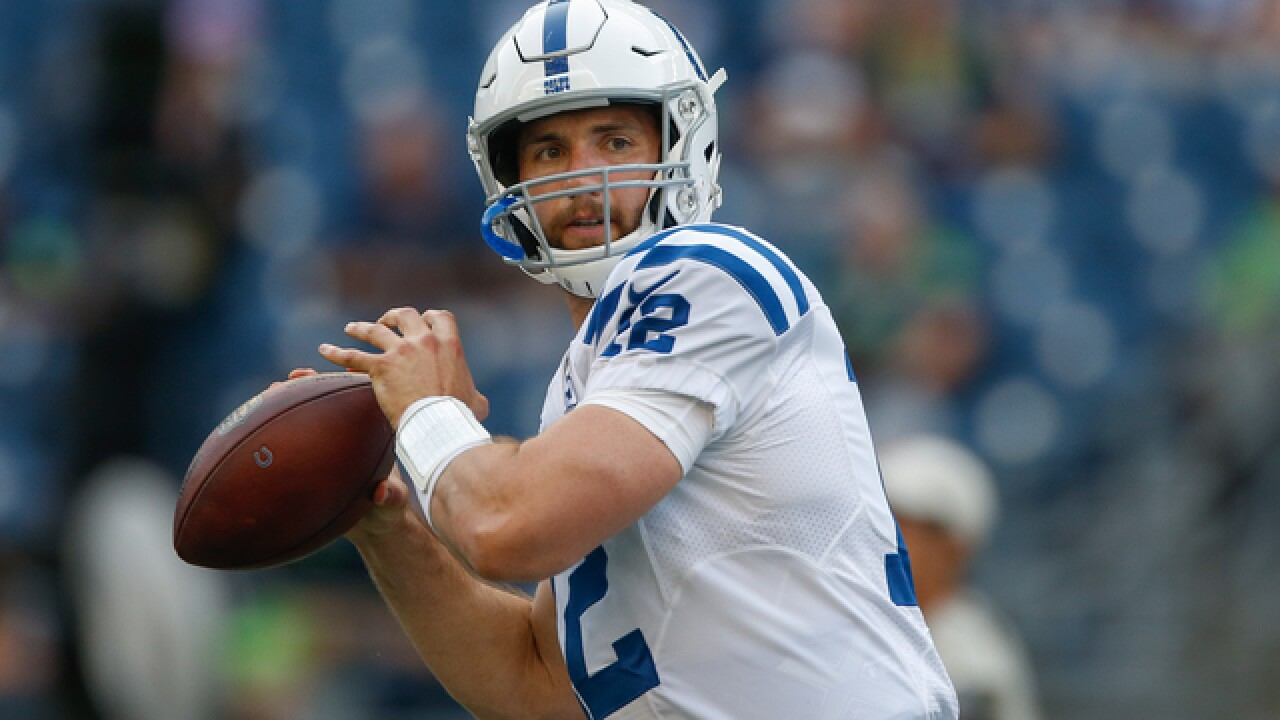 Protecting Luck is top priority for Colts