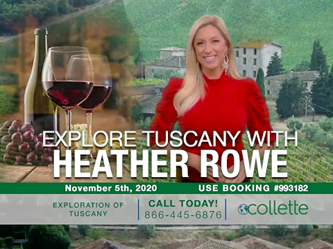 Explore Tuscany with Heather Rowe and Collette Travel!