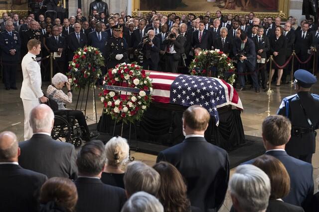 PHOTOS: Senator McCain memorial services in D.C. area