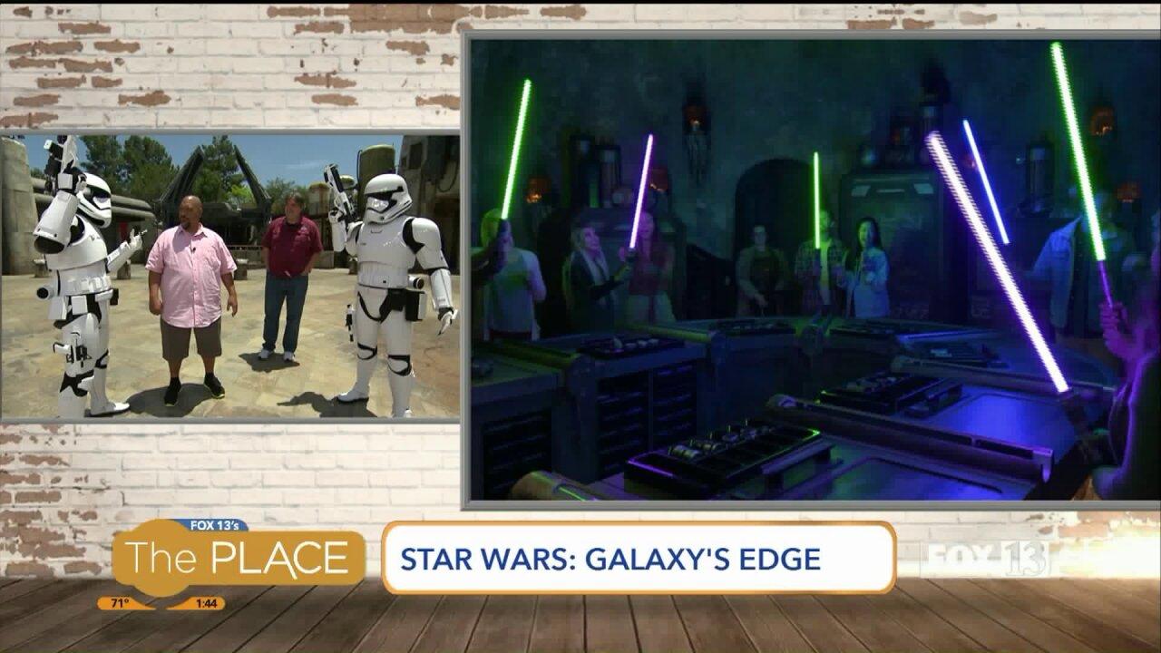 "Budah gives us a sneak peek of ""Star Wars: Galaxy'sEdge"""