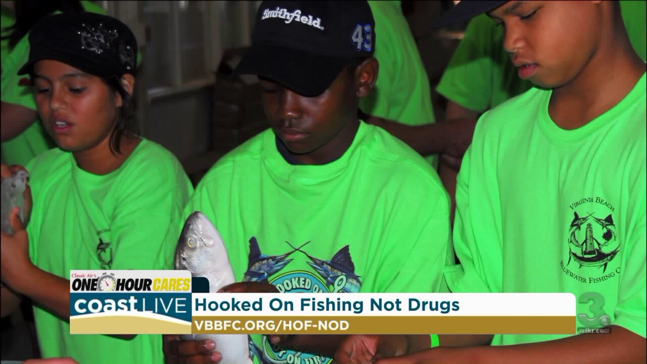 A local program getting kids Hooked on Fishing Not on Drugs on CoastLive