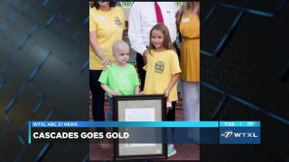 SECOND CUP: Cascades Goes Gold