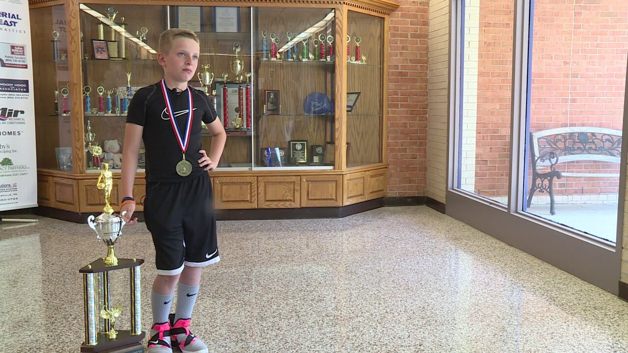 Hot Shot: Hanover 4th grader wins national free throw contest