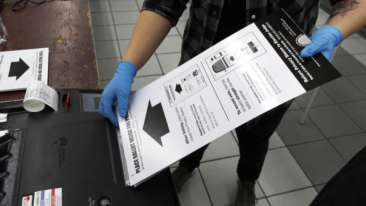 AP Poll Virus Outbreak Voting