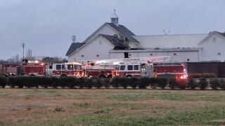 Bourree fire