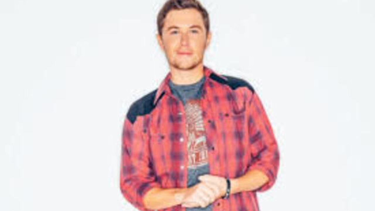 Scotty McCreery performing at the Fox Theater