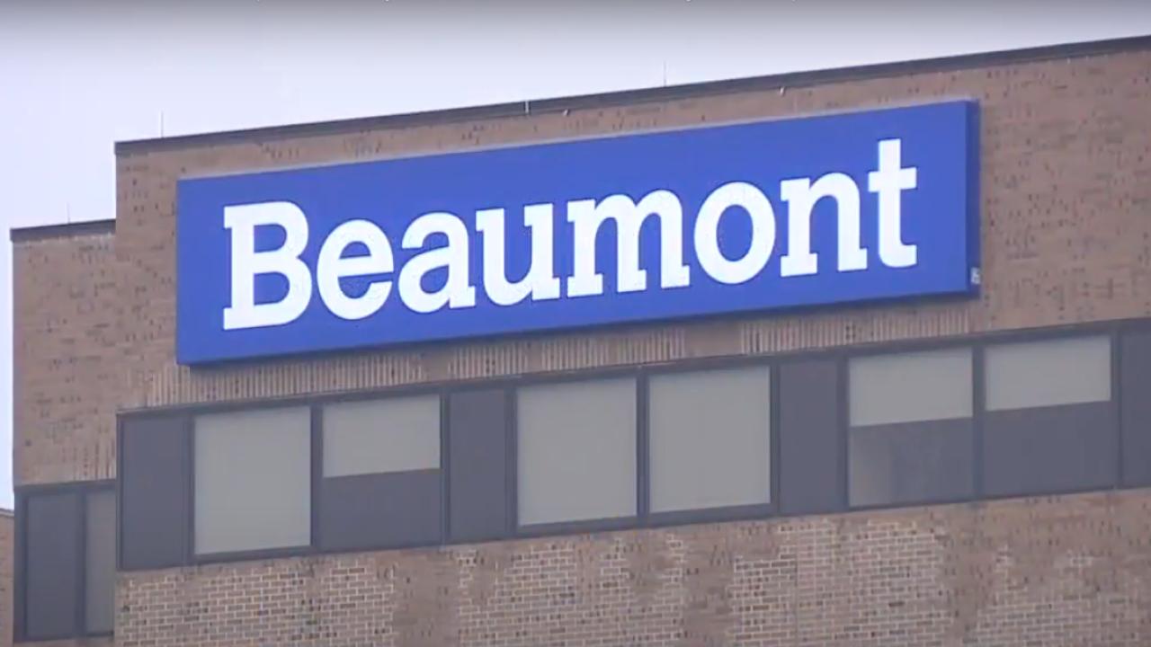 Beaumont hospital exterior
