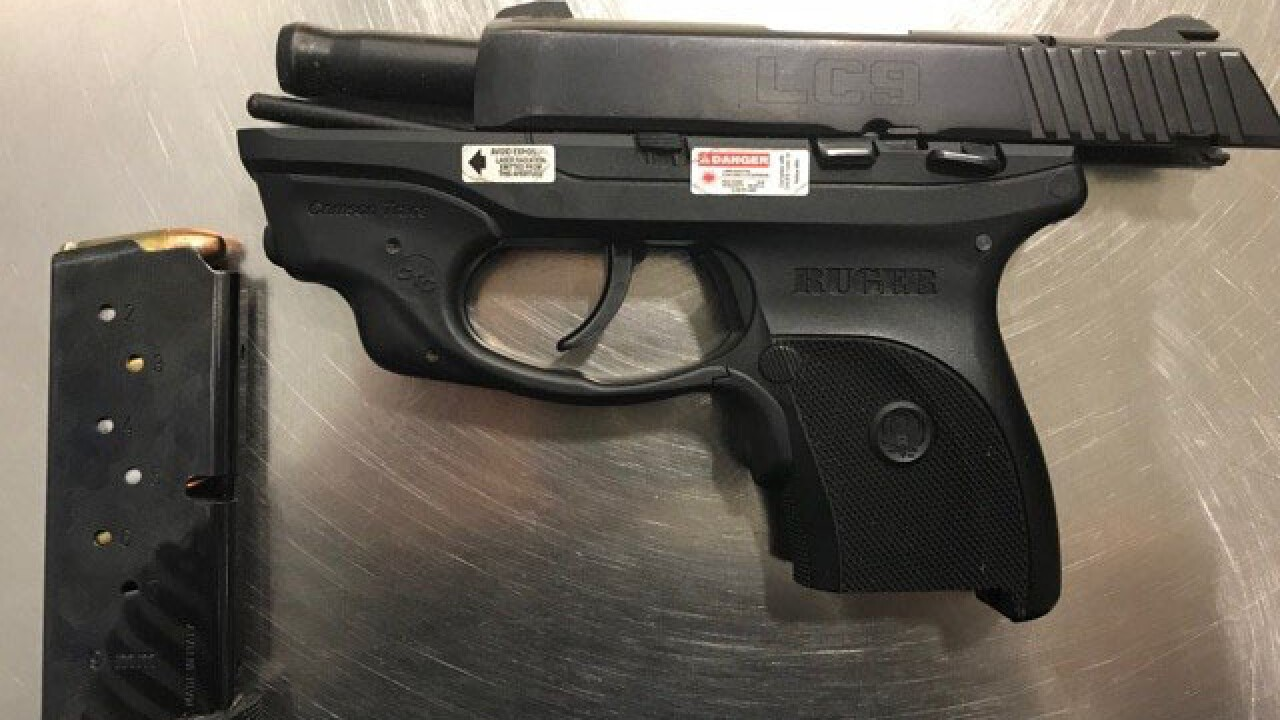 TSA finds loaded gun in passenger's carry-on bag at Cleveland airport
