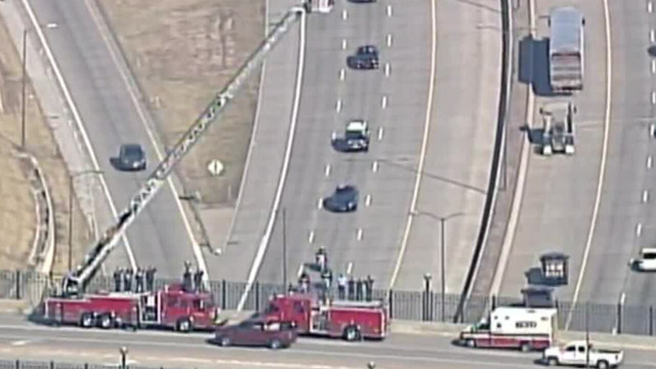 LIVE: Officer Morton procession to Clinton