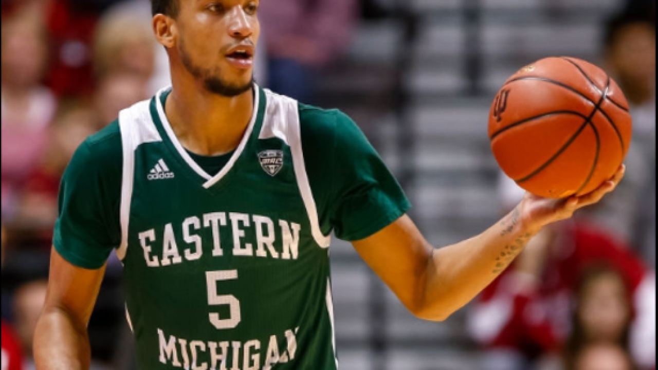 Eastern Michigan seizes early control over Goshen in win