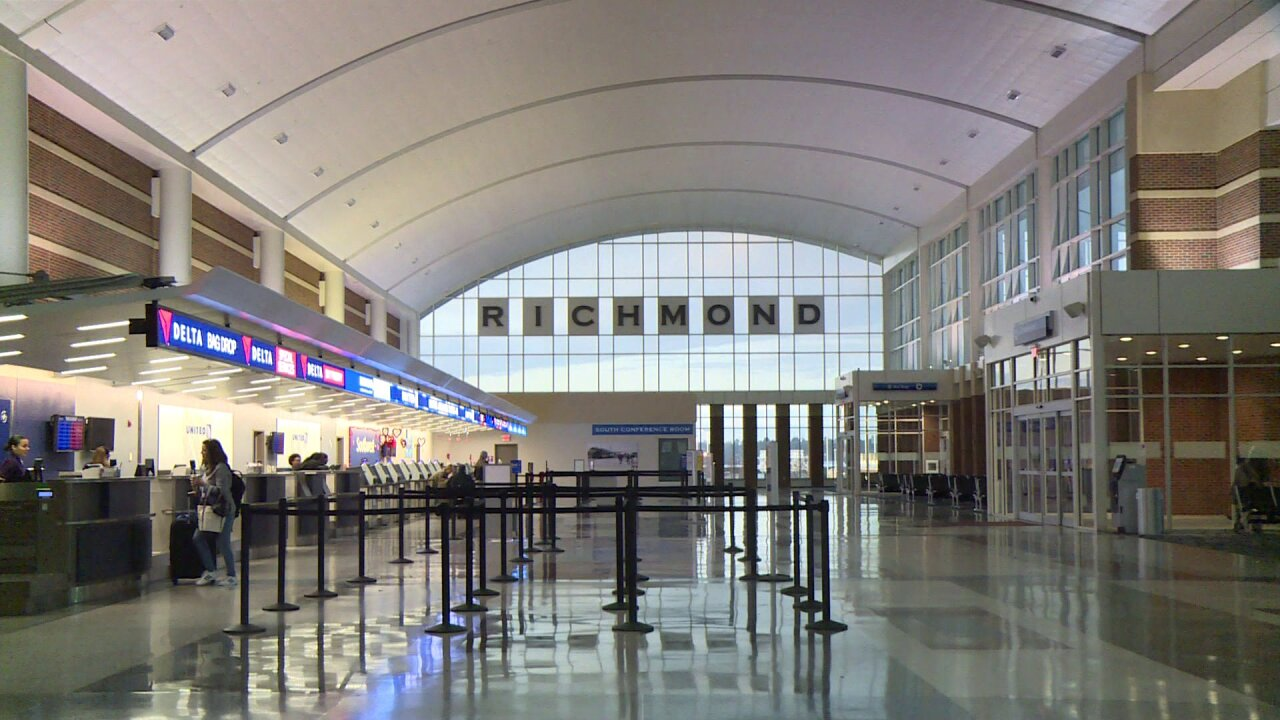 Package scare prompts bomb squad response at Richmond International Airport