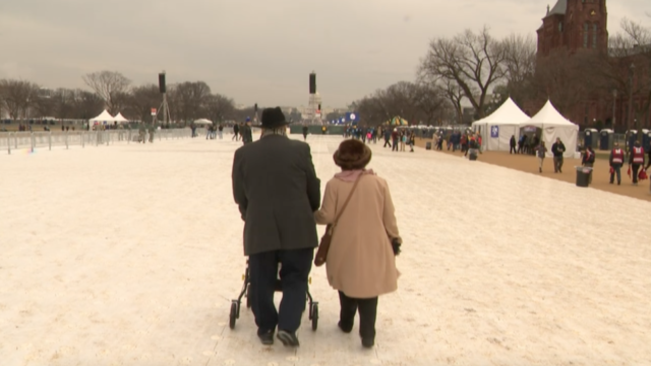 For one couple, trip to inauguration is 40 years in the making