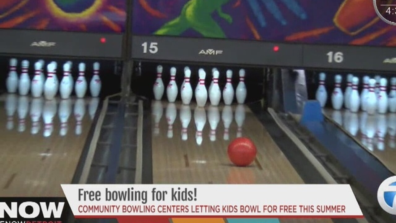 Kids bowl free at local alleys all summer long