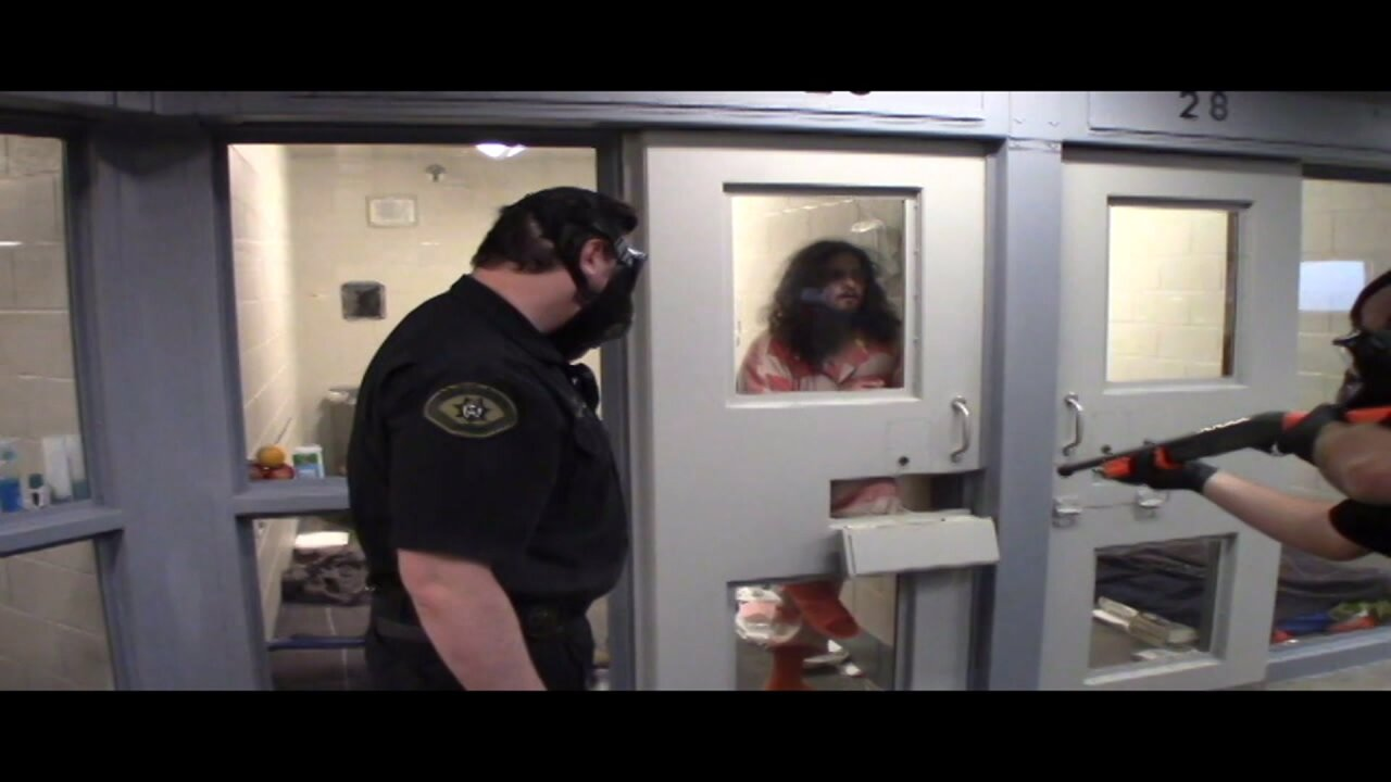 Former Utah Co. Jail detainee files lawsuit over jail shooting (Warning: Graphic Content)