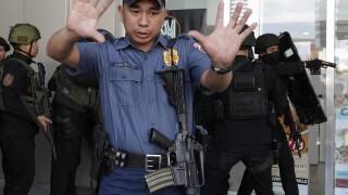 Philippines Mall Standoff