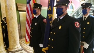 Capitol 9/11 ceremony  honors first responders and encourages unity in divisive time