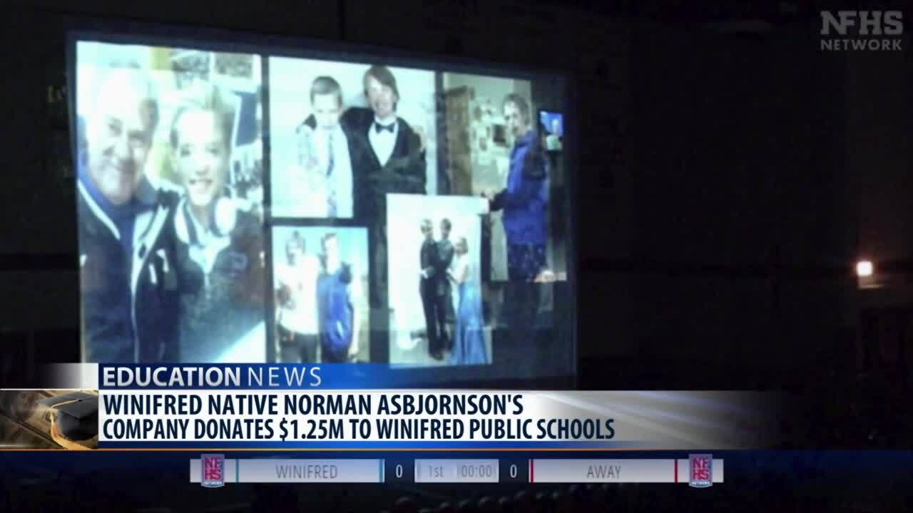 AAON donates $1.25M to Winifred Public Schools to honor founder Norman Asbjornson