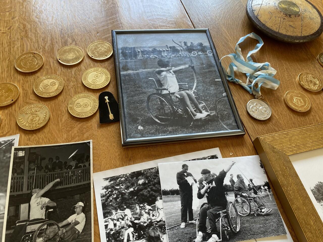 Harris Paralympic Memorabilia